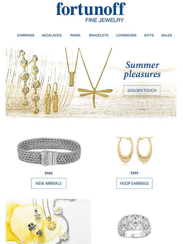 Gold Jewelry Newsletter