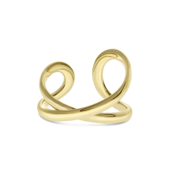 Open Loop Ring, 14K Yellow Gold