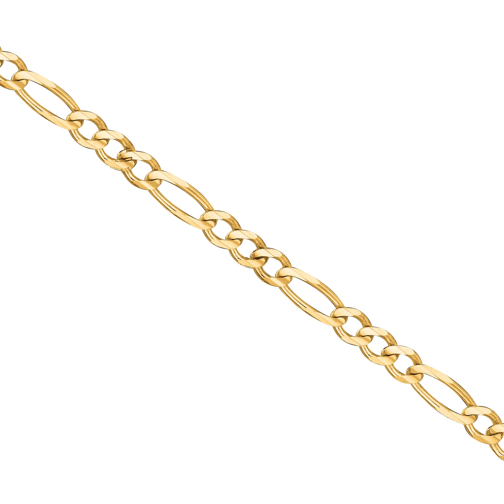 Classic Figaro Chain, 24 Inches, 14K Yellow Gold