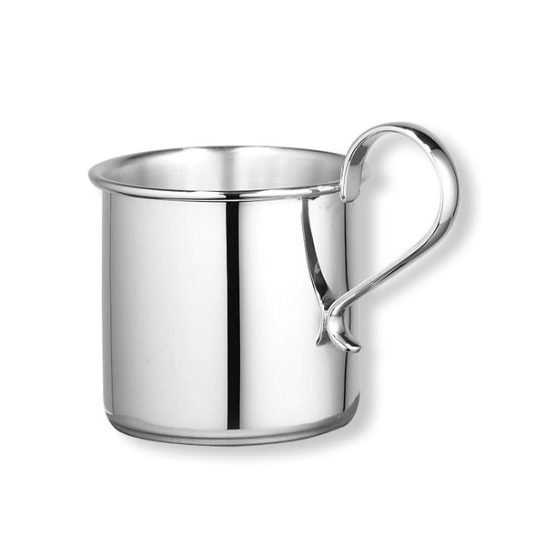 Sterling Silver Baby Cup, Handled, 2 Inches High