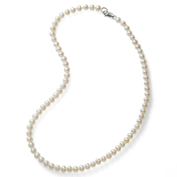 Child's Freshwater Cultured Pearls, 4.5-5 mm, Sterling Silver, 13.5 Inches