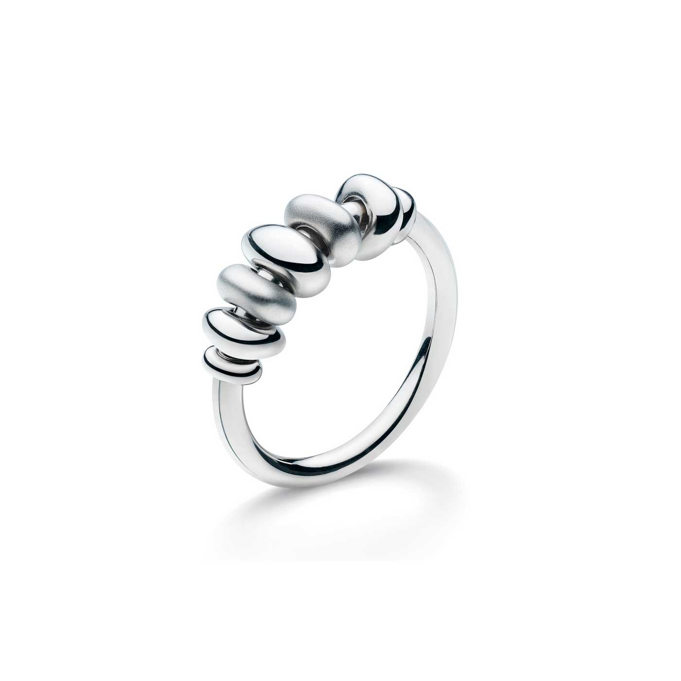 Coast Tumble Sandblast Ring, Sterling Silver