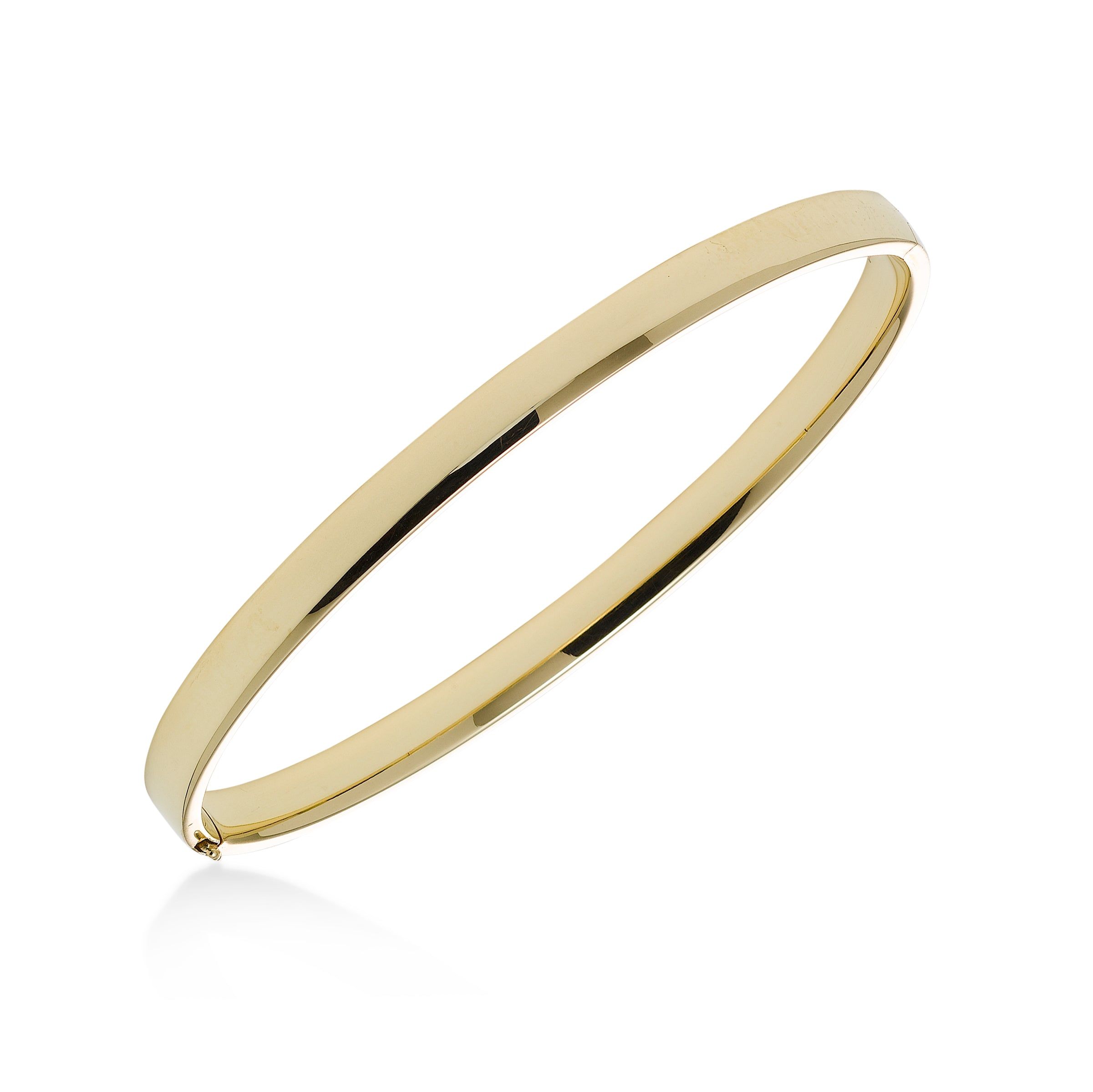 3090ab7ed83 Fortunoff Fine Jewelry. Home; Flat Bangle Bracelet, 14K Yellow Gold