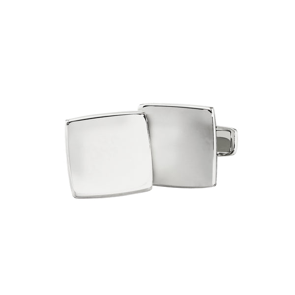Engravable Cufflinks, Stainless Steel