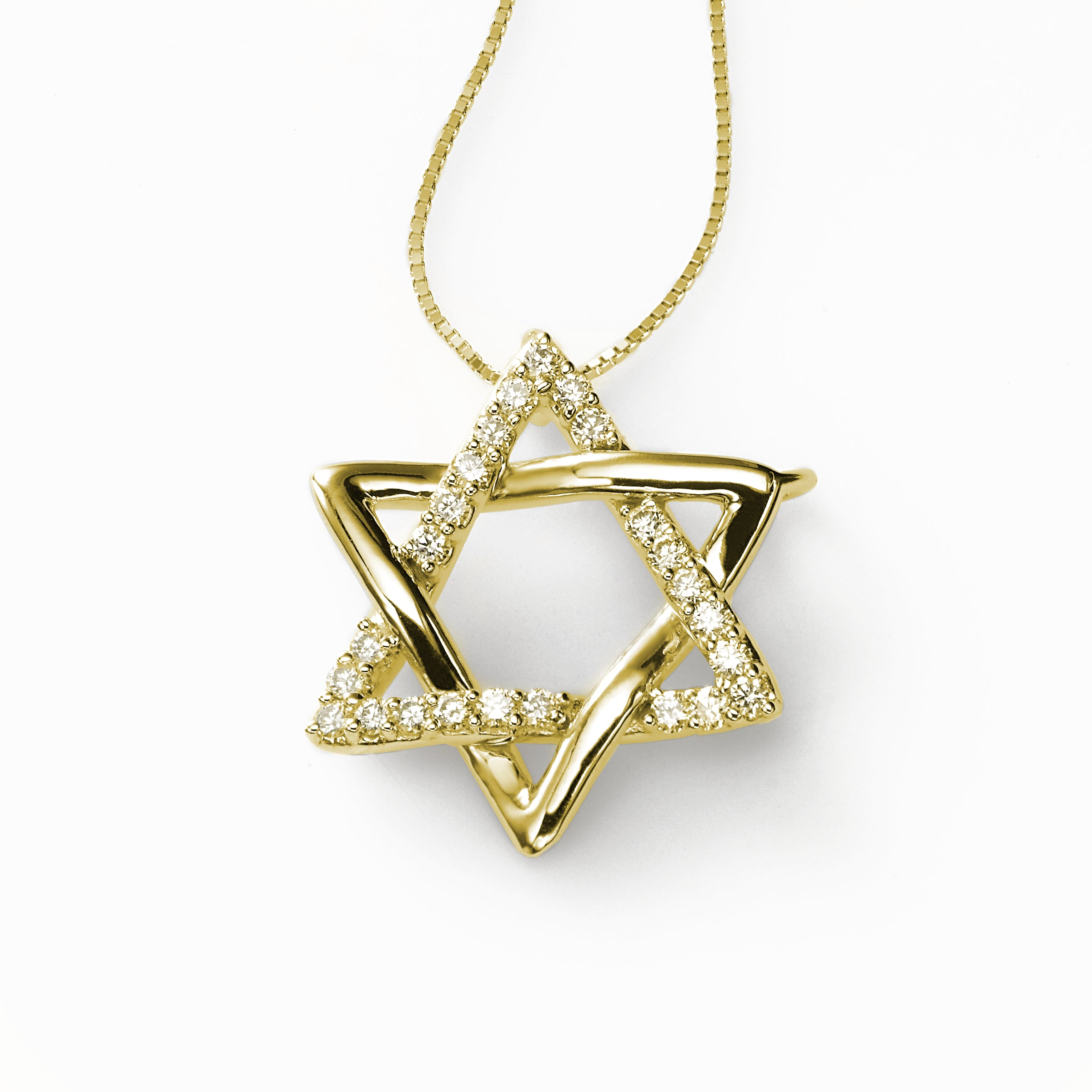 Stunning Star of David, 14K Yellow Gold