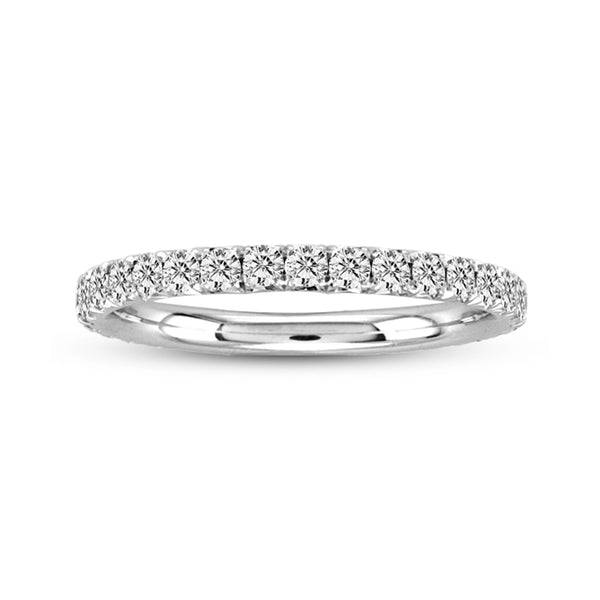 Round Diamond Eternity Band, Platinum
