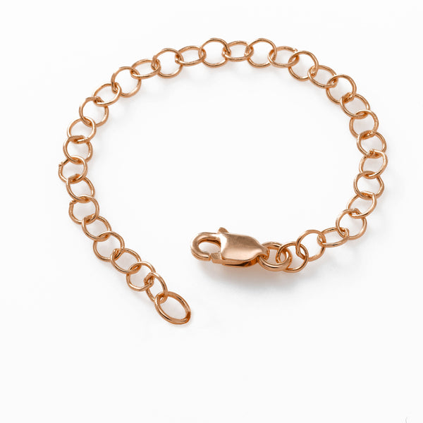 Chain Extender, 3 Inches, 14K Rose Gold
