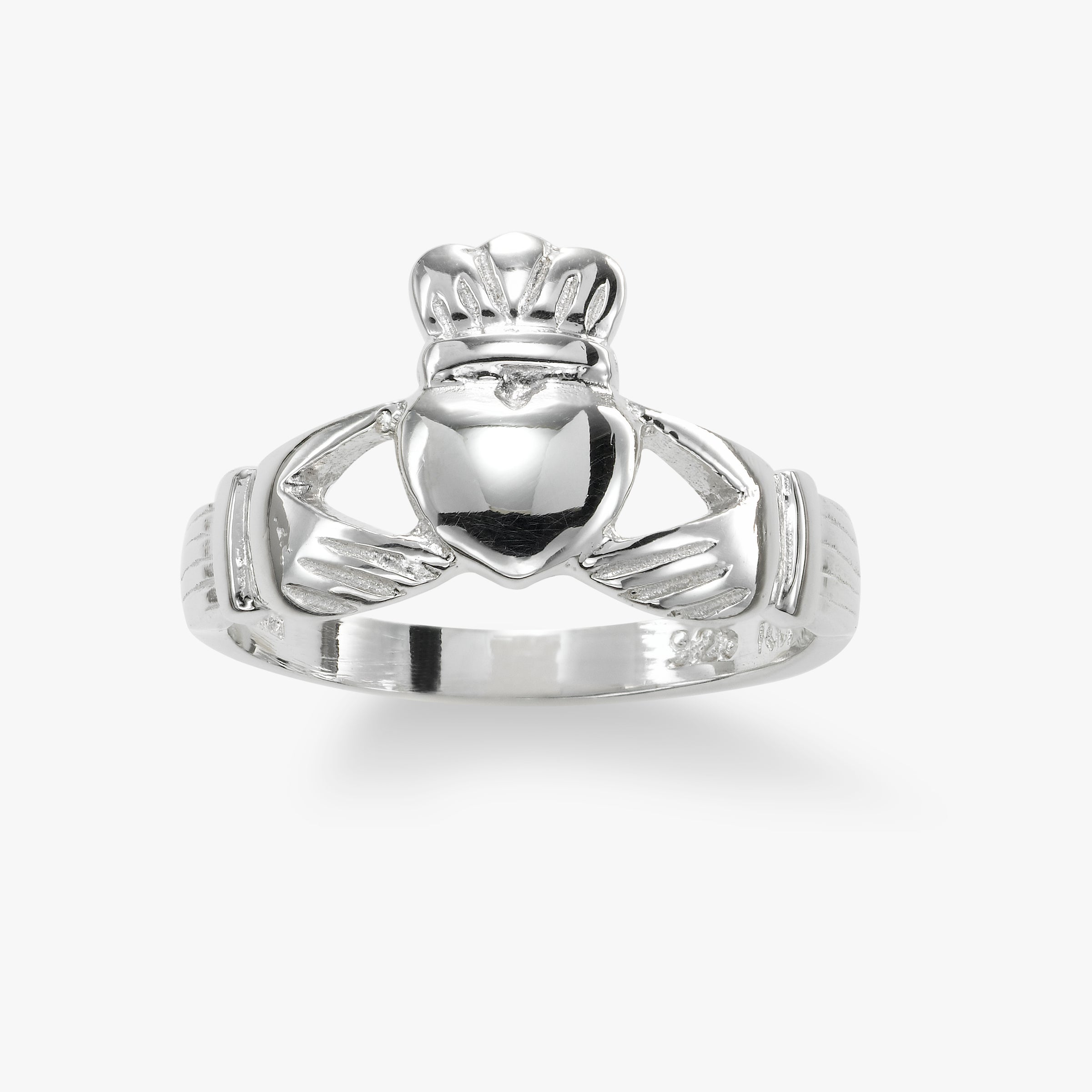 Claddagh Ring, Sterling Silver