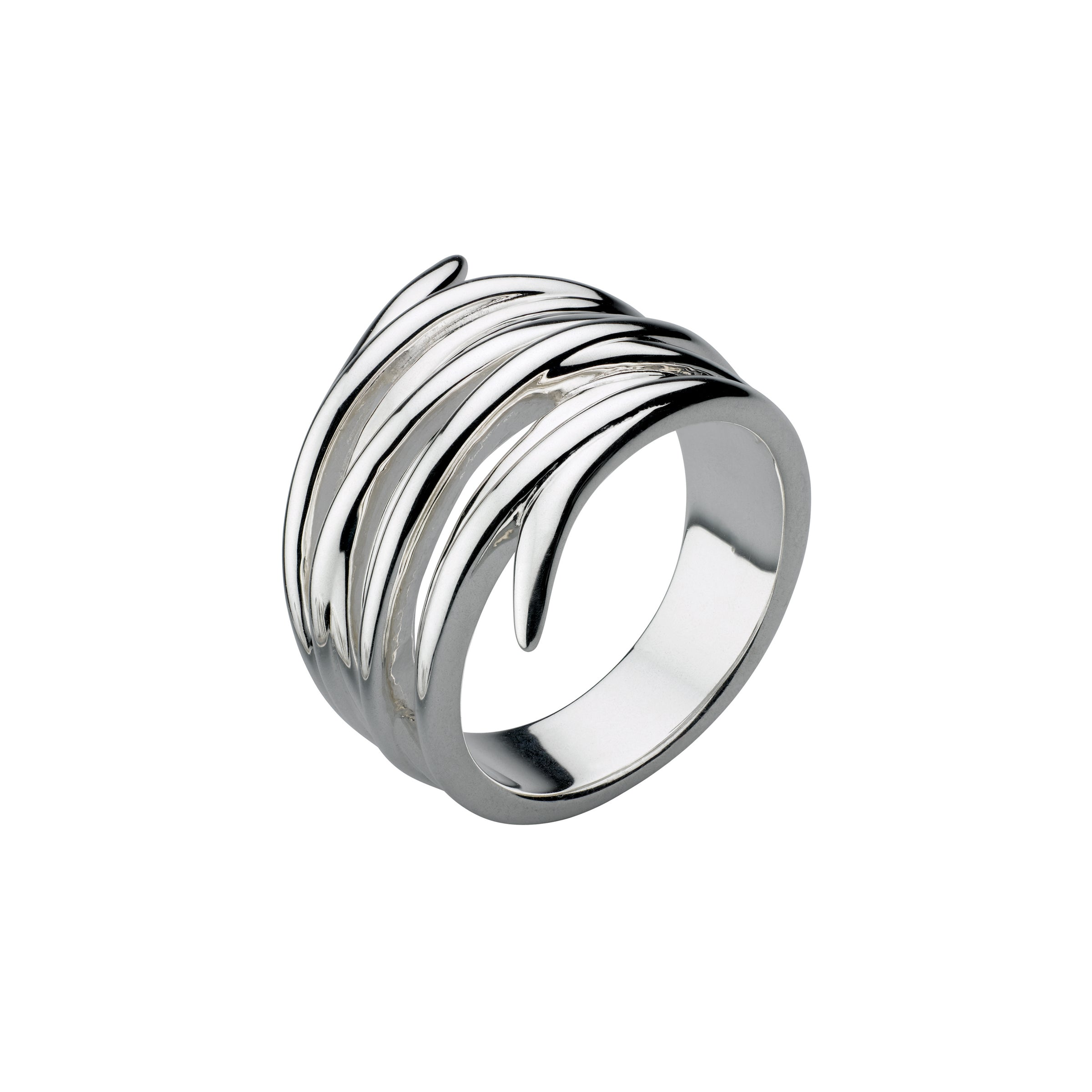 Helix Wrap Ring, Sterling Silver