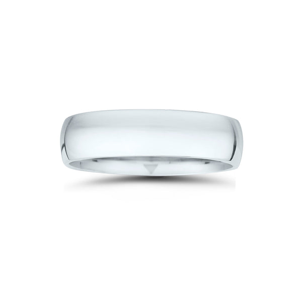 Classic Wedding Band, 6MM, Platinum