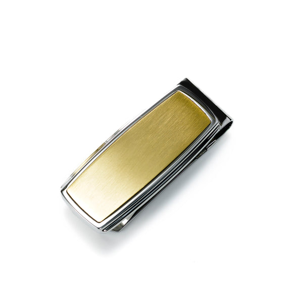 Gold Tone Money Clip, Stainless Steel