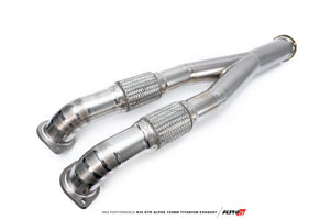 AMS Performance R35 GTR Alpha 102mm Titanium Exhaust