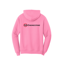 Load image into Gallery viewer, RD Engineering Logo Pullover Hoodie - Pink