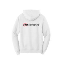 Load image into Gallery viewer, RD Engineering Logo Pullover Hoodie - White