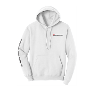 RD Engineering Logo Pullover Hoodie - White