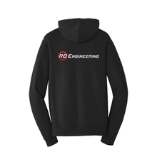 Load image into Gallery viewer, RD Engineering Logo ZipUp Hoodie - Black