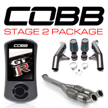 Load image into Gallery viewer, Cobb Nissan GT-R Stage 2 Carbon Fiber Power Package NIS-007