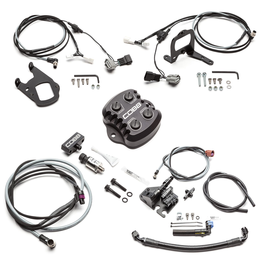 Cobb Nissan CAN Gateway + Flex Fuel Kit + Fuel Pressure Monitoring Kit GT-R 2008-2018