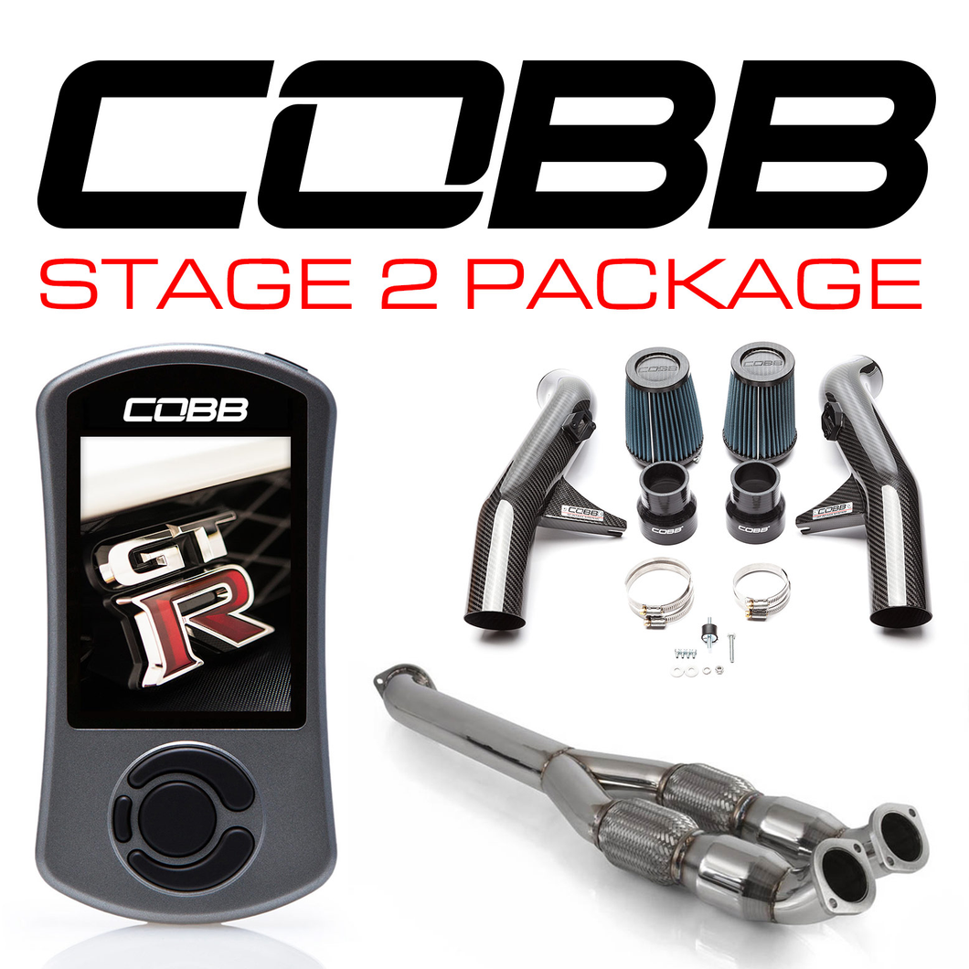 Cobb Nissan GT-R Stage 2 Carbon Fiber Power Package NIS-008 with TCM Flashing