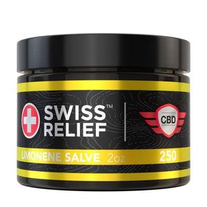 Swiss Relief - Limonene CBD Salve 2oz 250MG