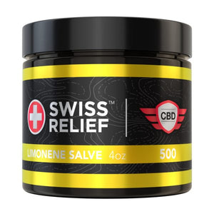 Swiss Relief - Limonene CBD Salve 4oz 500MG