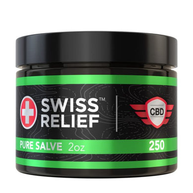 Swiss Relief - Pure CBD Salve 2oz 250MG