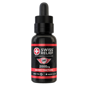 Swiss Relief – Berry Flavored CBD Tincture 2000MG