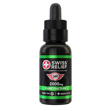 Load image into Gallery viewer, Swiss Relief – Pure CBD Tincture 2000MG