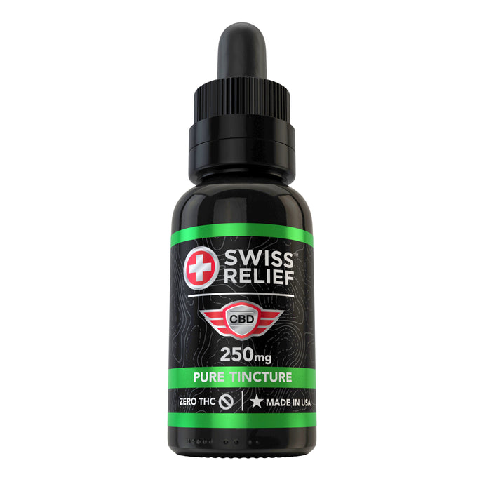 Swiss Relief – Pure CBD Tincture 250MG