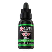 Load image into Gallery viewer, Swiss Relief – Pure CBD Tincture 500MG