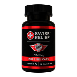 Swiss Relief - CBD Capsule (60 count) 25mg