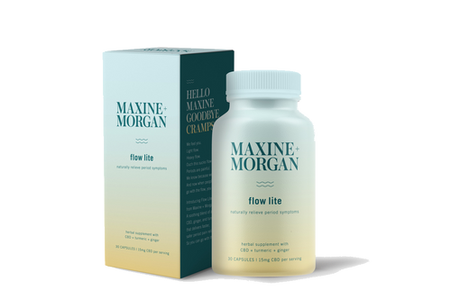 Maxine + Morgan's Flow Lite CBD (15 MG)