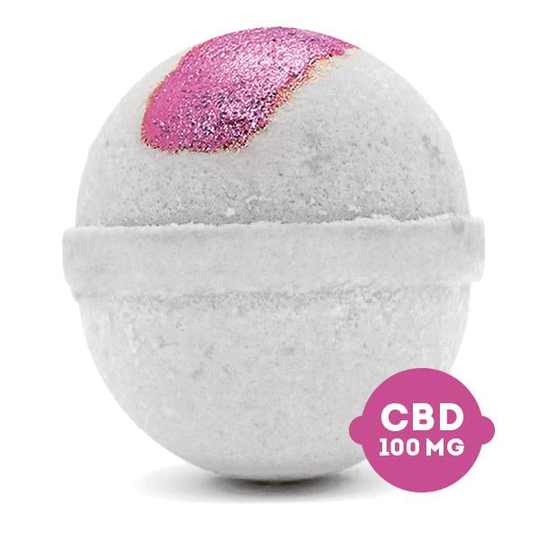 CBD Bath Bombs - Pure - 5oz CBD Isolate (100 MG)