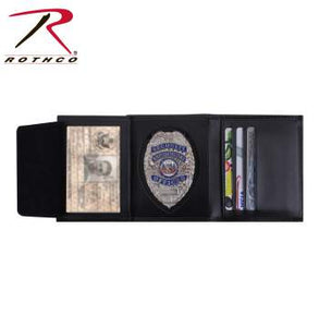 Rothco Leather ID & Badge Wallet