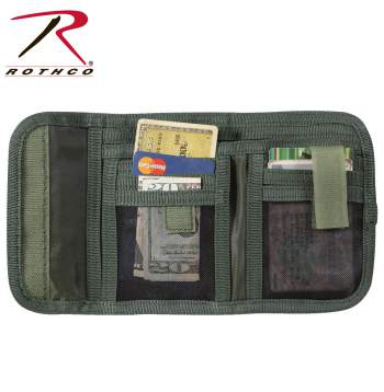Rothco Deluxe Tri-Fold ID Wallet