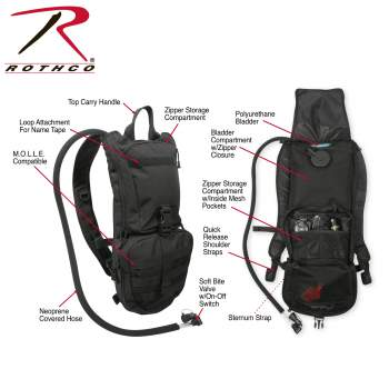 Rothco Rapid Trek Hydration Pack