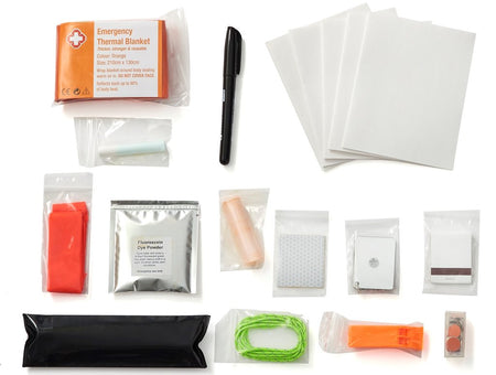 Signaling- 14 Piece Emergency Signal Kit