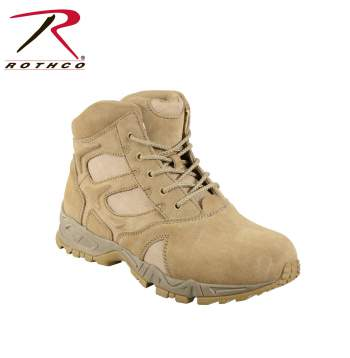 Rothco 6 Inch Forced Entry Desert Tan Deployment Boot