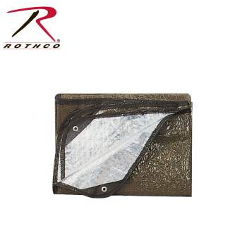 Rothco G.I. Aluminized Casualty Blanket