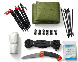SHELTER - 22 PIECE SHELTER BUILDING KIT