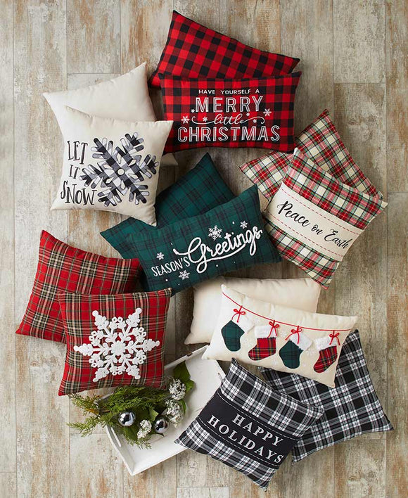 SS-Holiday Accent Pillows