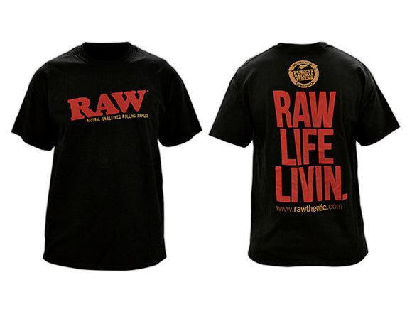 RAW MENS BLACK SHIRT (Unavailable)
