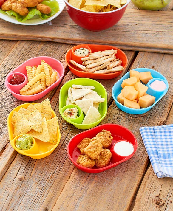 SS- Set of 6 Snack Trays