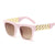 Rice Nail Large Frame Sunglasses