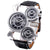 Men's Quartz Watch With 3-Movt