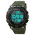 Multifunctional 3D Pedometer Male Wristwatch