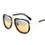 Vintage Metal Big Frame Lovers Sunglasses