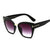 Fashion Square Sunglasses, Colorful Reflective Sunglasses