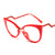Fashion Cat Eye  Glasses Frame With Clear Lens