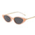 Fashion Metal Temples Small Frame Sunglasses